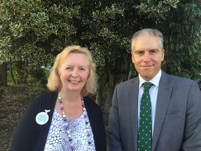 Cllr Ginny Boxall has been appointed EHDC\'s Climate Champion, with Cllr Russell Oppenheimer as her deputy.